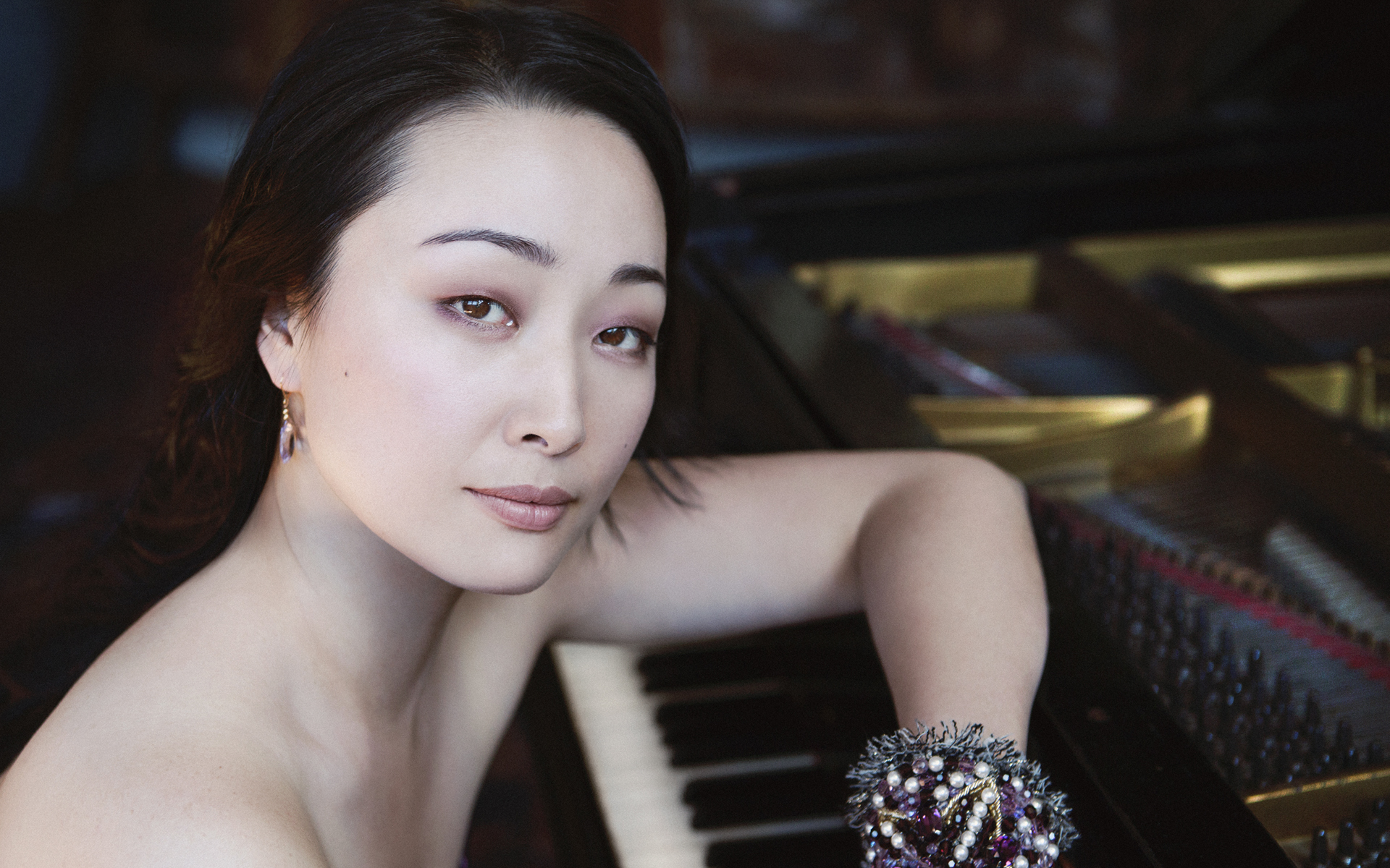"""the excellent pianist… Miori Sugiyama…"""